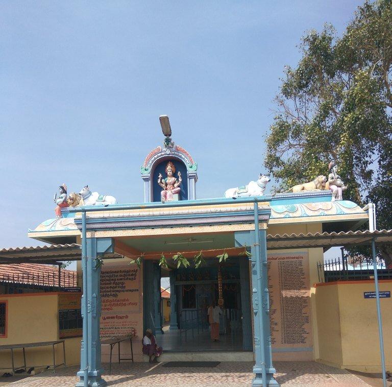 Coimbatore Attractions: Tamilnadu Tourism: Angala Parameswari Temple, Palladam