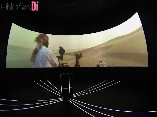 Simulação de passeio com camelo