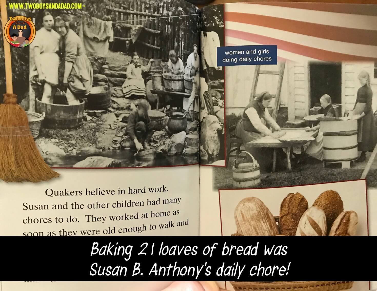 Susan B. Anthony's early life