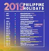 Plan your long weekends ahead; the 2019 PH holidays announced