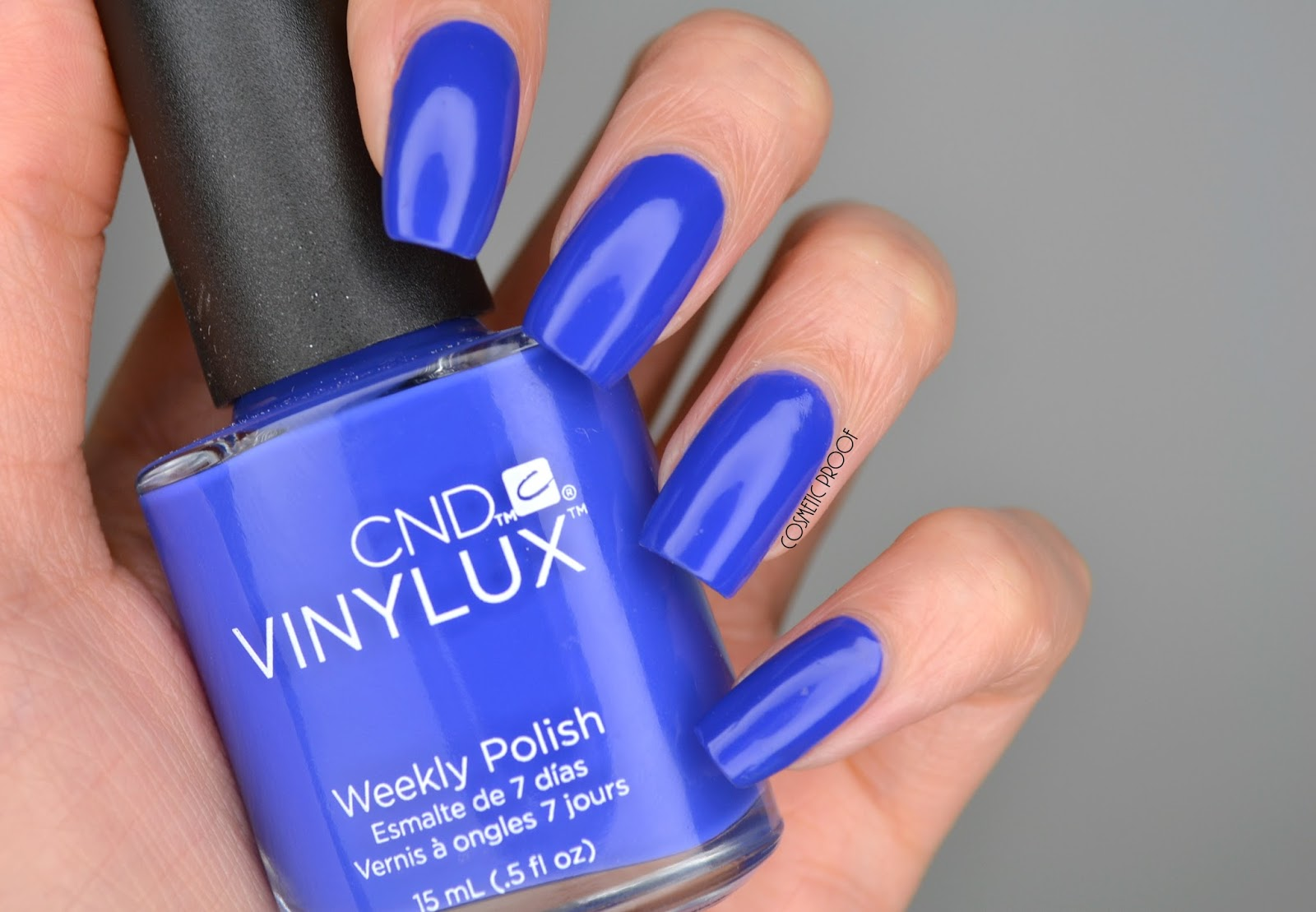NAILS | CND Vinylux Blue Eyeshadow Swatch and Swirly Yellow Nail Art ...