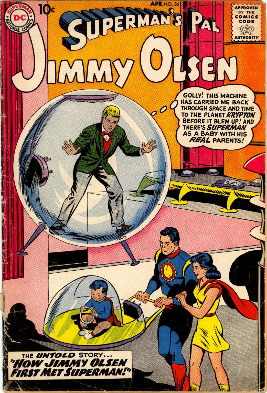 Supermans Pal Jimmy Olsen (1954) 36 Page 1