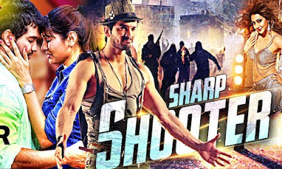 Sharp Shooter 2016 Hindi Dubbed WEBRip 350mb