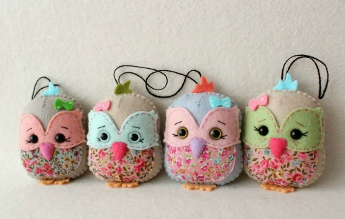 Owl Sachet Ginger Melon Dolls