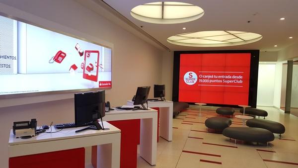 El informatorio santander r o inaugur la primera oficina for Horario oficina agil bankia