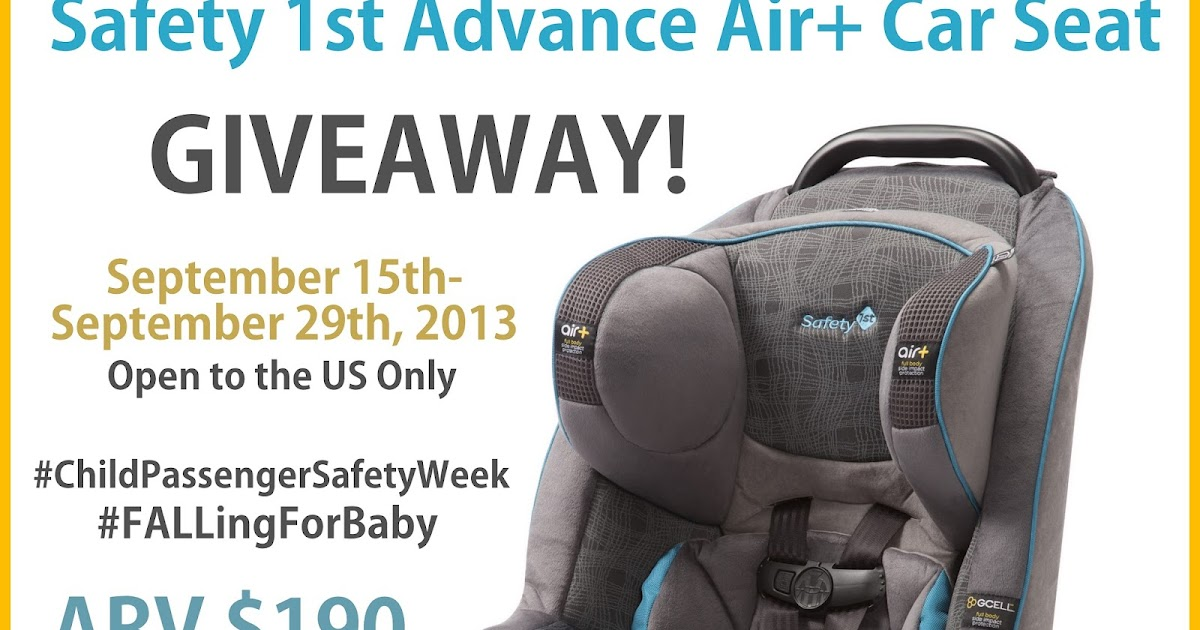 Just Me And The Boys: Safety 1st Advance Air+ Car Seat