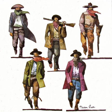 Thom Ross | Clanton Gang Crossing Allen Street