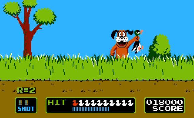 لعبة صيد البط أتاري Duck Hunt - منصة تجربة