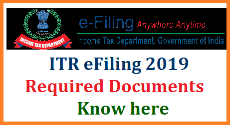 Here is the list of documents you must collect and things you must do before filing your ITR for FY 2018-19. Do keep in mind that for salaried people, usually file their return using either ITR-1 or ITR-2 which is now available on the e-filing website. The government has notified the income tax return (ITR) forms for FY 2018-19. So you can now start collecting the documents need to file your ITR for the financial year 2018-19. Although you have till July 31 to file your return, keeping the required documents handy in advance will make the process easier.  required-documents-for-itr-income-tax-efiling-know-here