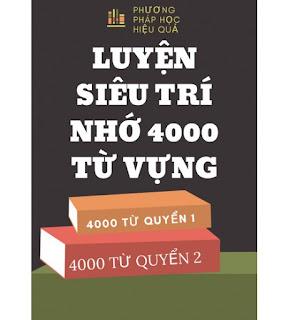 Luyện siêu trí nhớ 4000 từ vựng ebook
