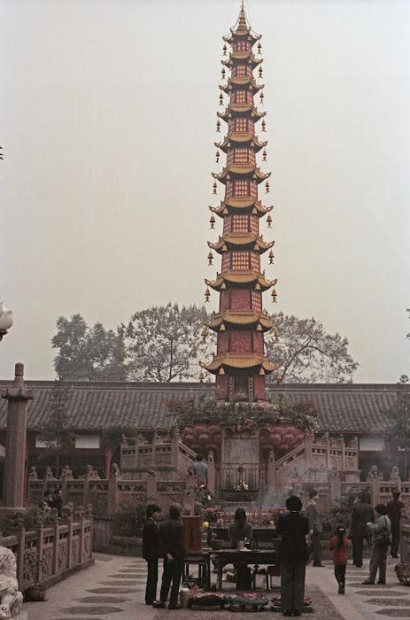 Chendgu, Wenshu, © L. Gigout, 1990