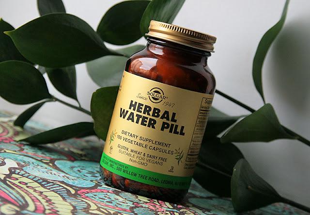Как избавиться от отеков: Solgar Herbal Water Pill - отзыв в блоге itdalee.ru