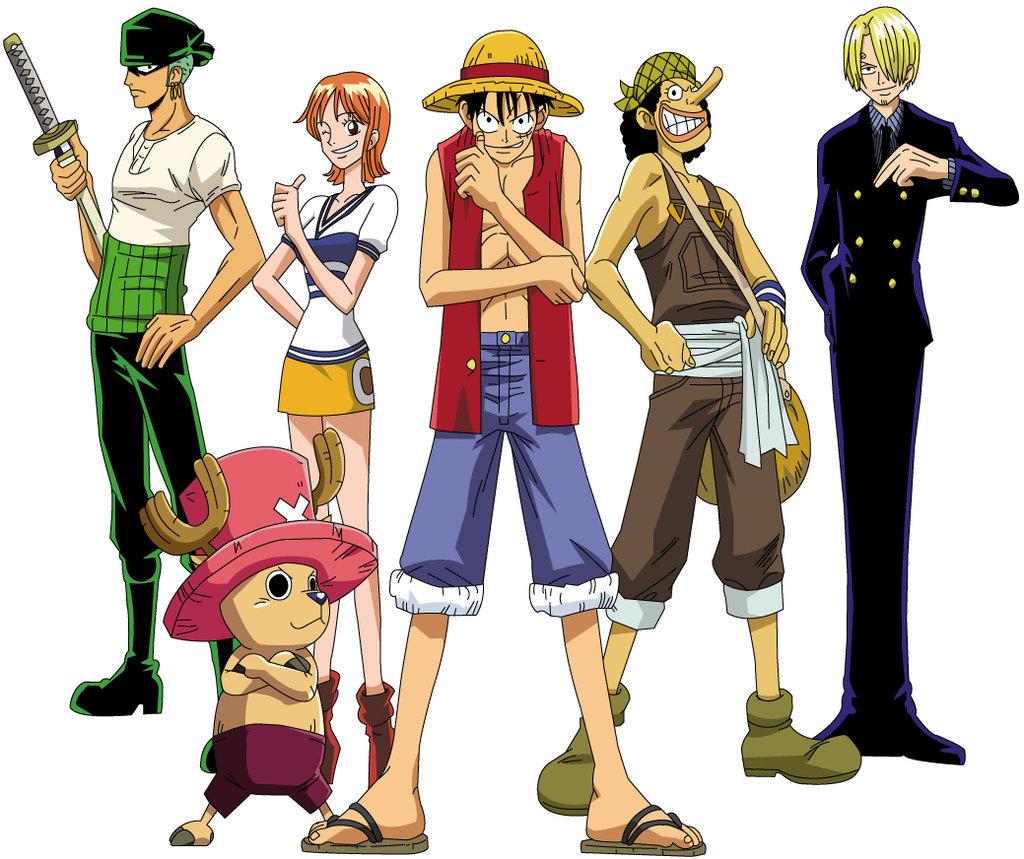 Nickelodeon Blog: One piece Luffy's Crew