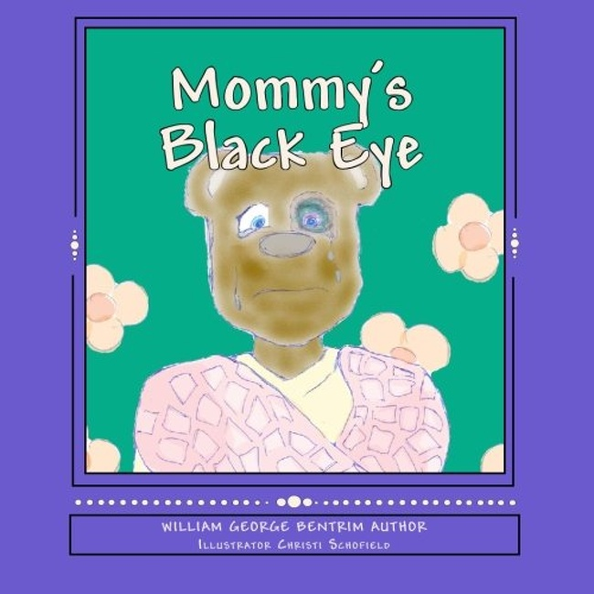 21 Images Discovered in Kids' Books That Raise So Many Questions - Mommy's black eye and fluffy face