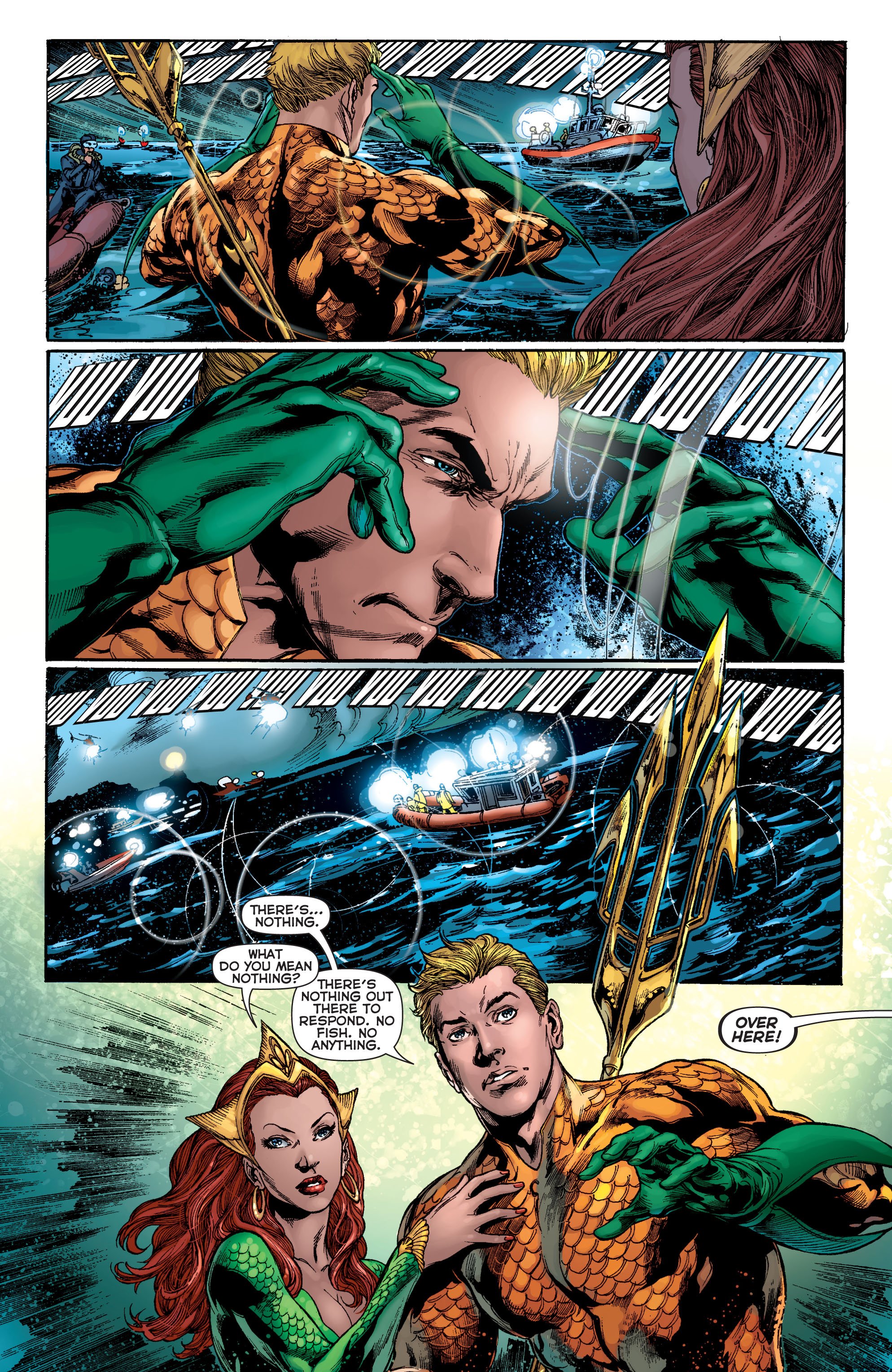 Read online Aquaman (2011) comic -  Issue #2 - 14