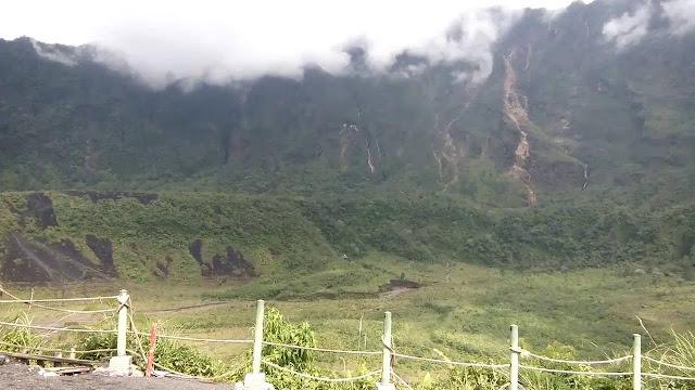 misteri gunung galunggung