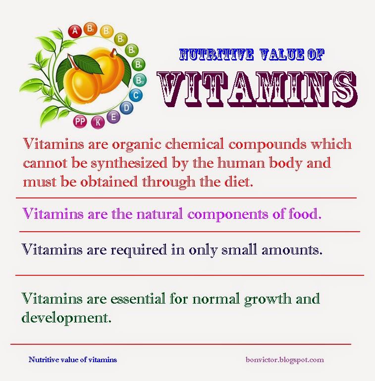 Vitamin & Supplement Glossary