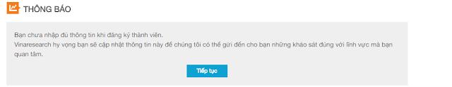 Hướng dẫn kiếm tiền online khảo sát vinaresearch của Việt Nam