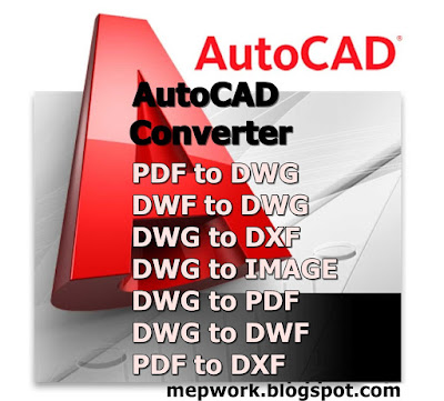 PDF to DWG Converter easily and quickly converts PDF files to DXF and DWG for efficient and fast and editing in AutoCAD
