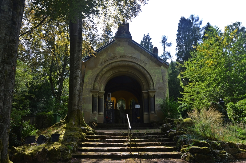 Wiesbaden Nordfriedhof  - cmentarz jak park