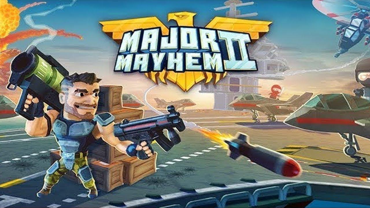 تحميل لعبة Major Mayhem 2 مهكرة للأندرويد