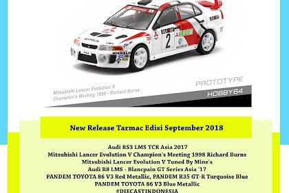 New Release Tarmac Edisi September 2018