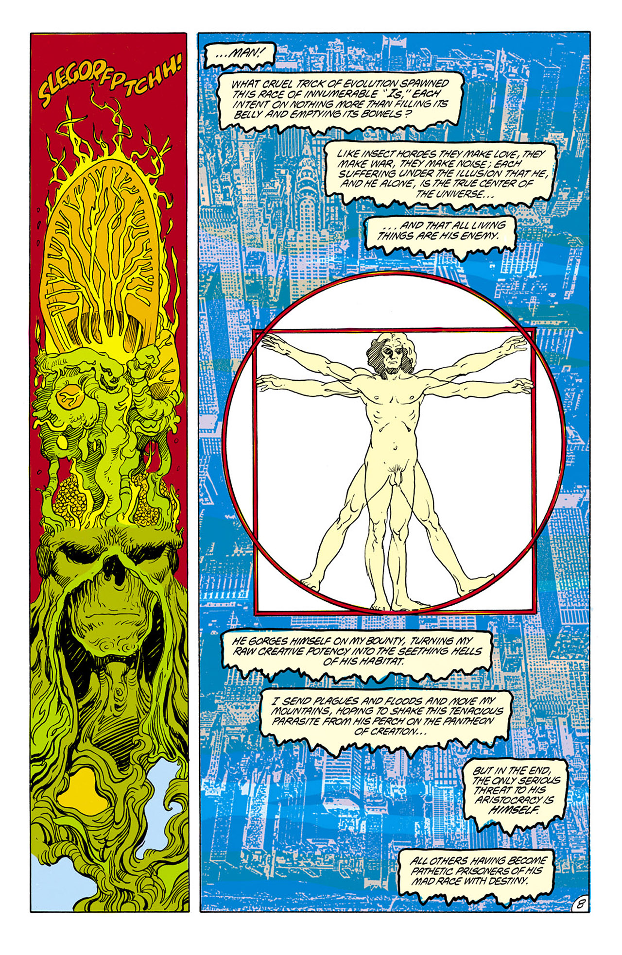 Swamp Thing (1982) Issue #75 #83 - English 9