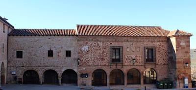 El ayuntamiento viejo, en la Plazuela de la Cárcel