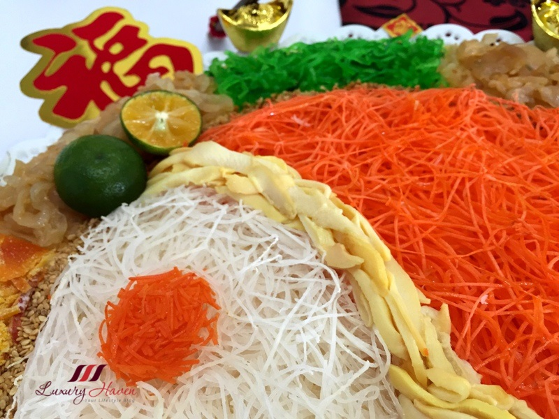 lunar new year abalone recipe bagua yusheng salad