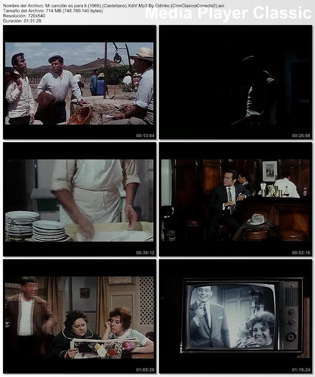 Imagenes de la película: Mi canción es para ti   1965    Manolo Escobar