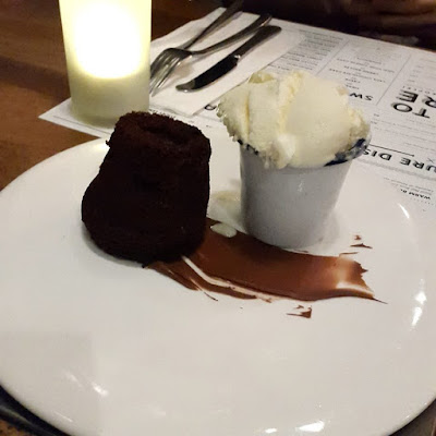 Chocolate Lava Cake and Ice Cream Fctry