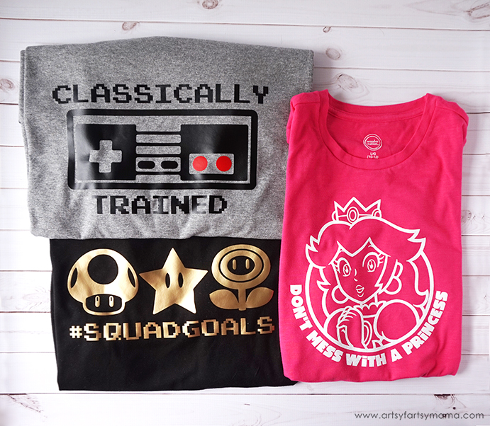 DIY Nintendo Shirts