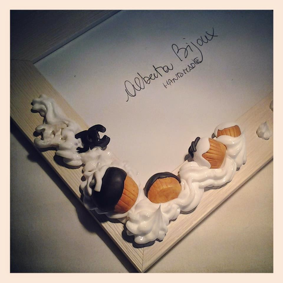 cornice cupcakes in fimo