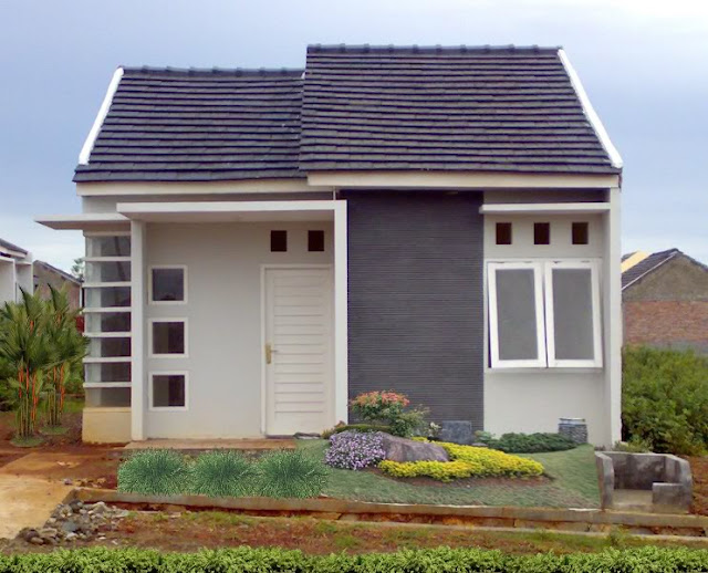 model teras rumah sederhana type 36