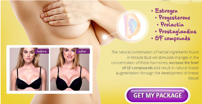 Increase Your Breast Size With Apex Vitality Miracle Bust Revom Merce