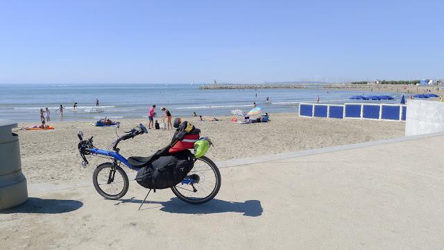 De Paris à Narbonne en vélo, La Grande-Motte