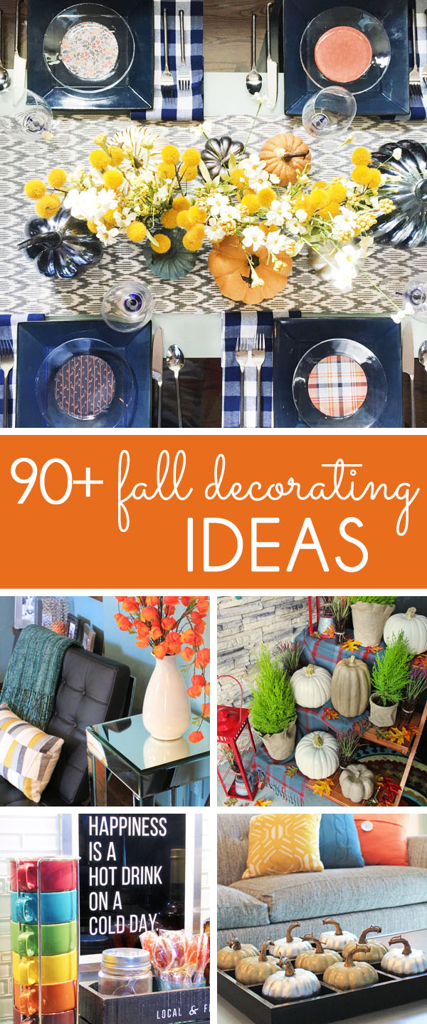 Fall Decorations - Fall Decorating Ideas