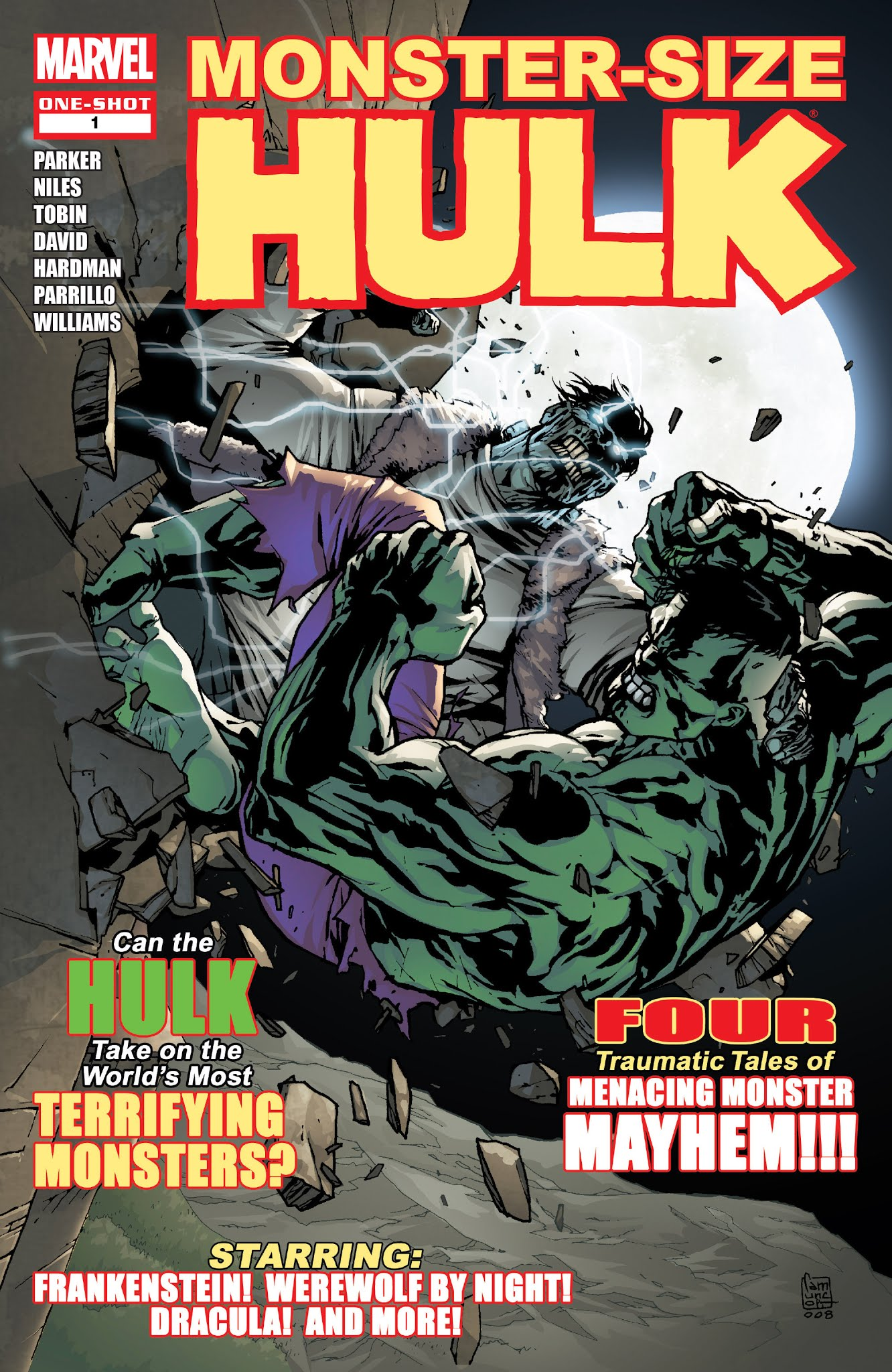 Hulk Monster-Size Special Full Page 1