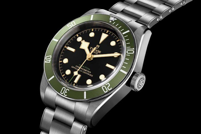 "Tudor Black Bay ""Green"" para Harrods"
