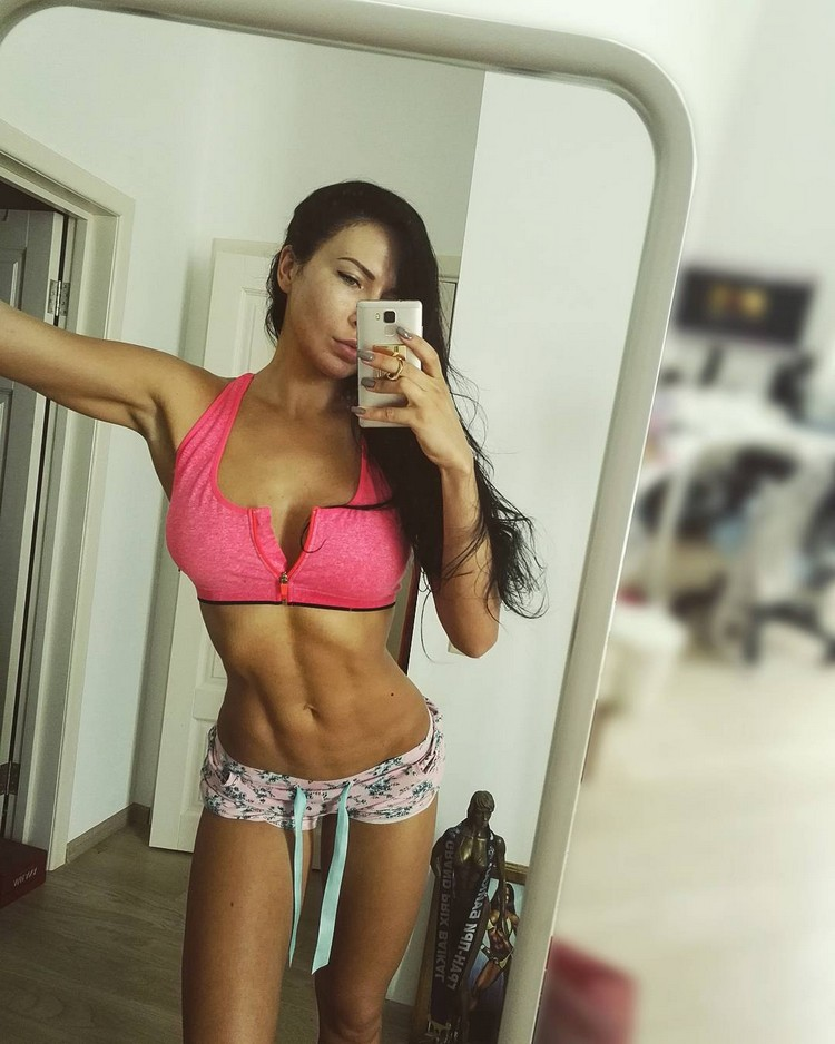 Russian Bikini fitness model Xenia Sheveleva