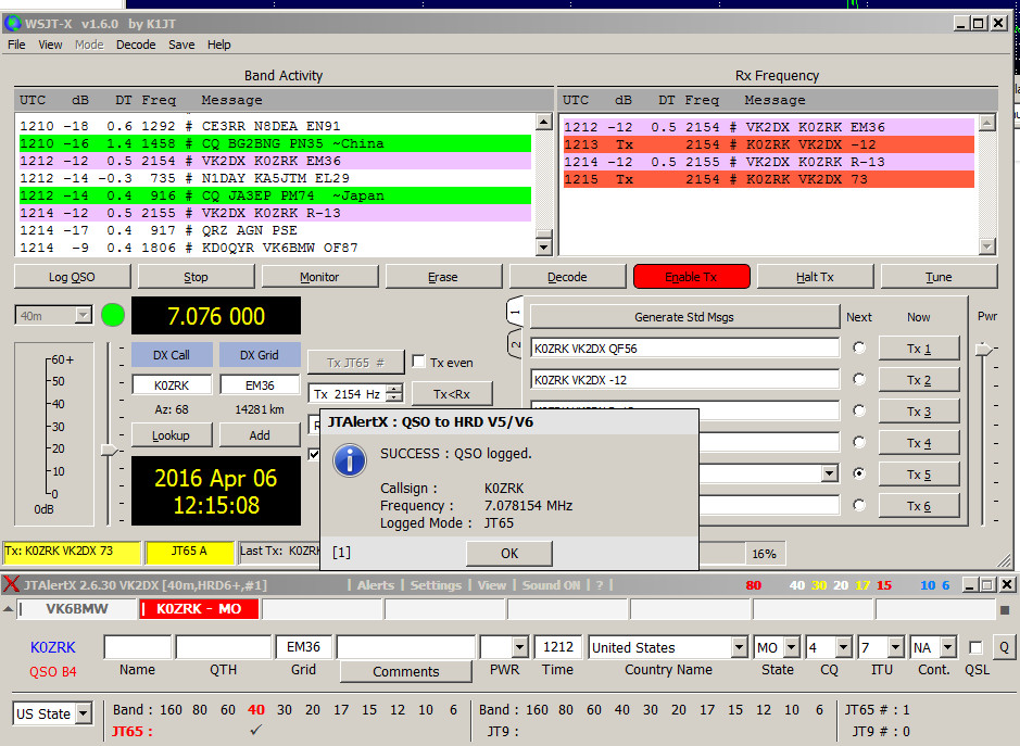 wsjt-x & jt-alert - QSL.net