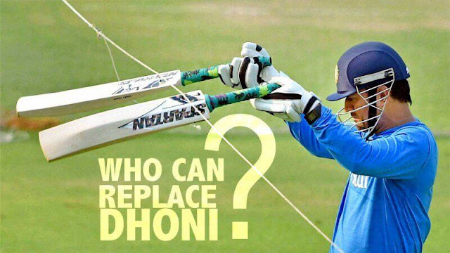 Who can replace Dhoni?