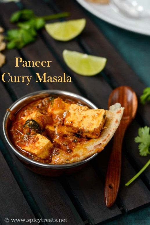 Paneer CurryMasala Recipe