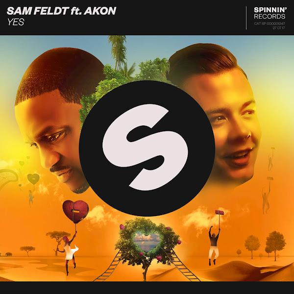 Sam Feldt - Yes (feat. Akon) - Single Cover
