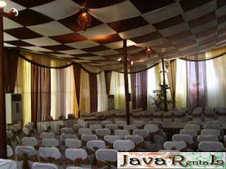 Sewa Tenda Dekorasi VIP - Penyewaan Tenda VIP Pameran