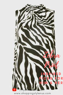 Shopping, Style and Us: India's Best Shopping and Self-Help Blog: #FallTrend2018 | Dorothy Perkins Zebra Print Top