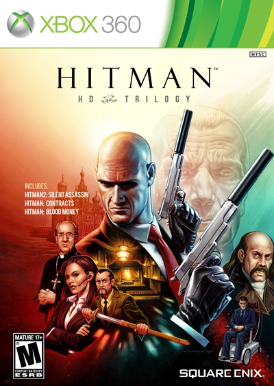 Hitman HD Trilogy Xbox 360 Region Free
