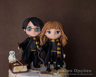 birtday cake Harry Potter and Hermione Granger