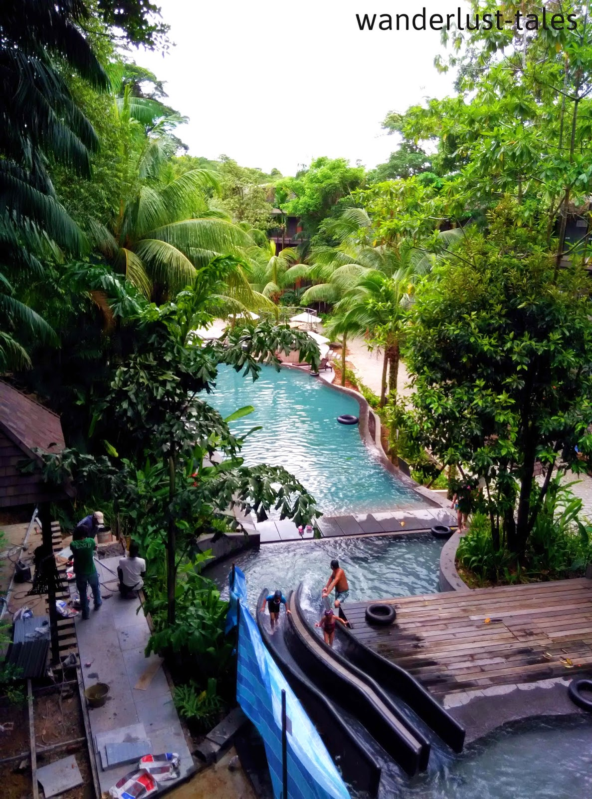 Eat well travel often siloso beach resort - Siloso beach resort swimming pool ...