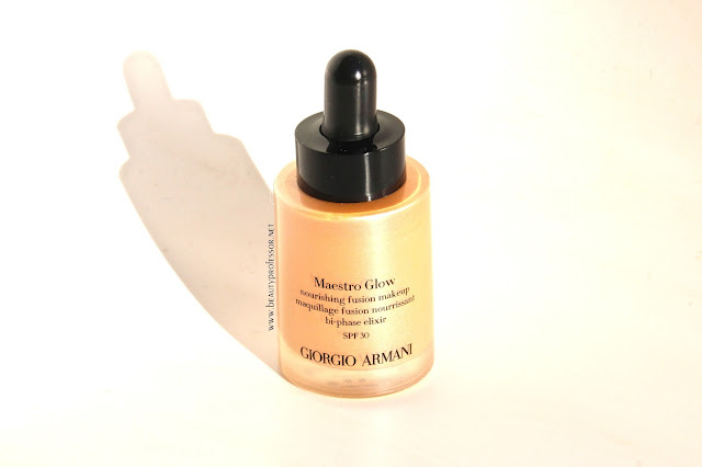 giorgio armani maestro glow foundation swatches